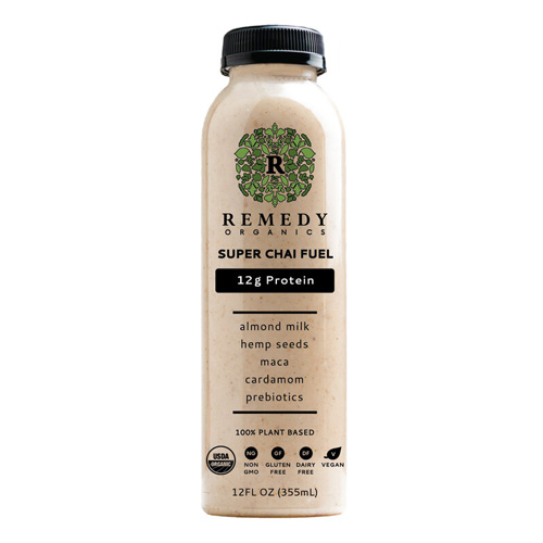 REMEDY ORGANICS 100% PLANT BASED SUPER CHAI 12oz