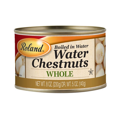 ROLAND WHOLE WATER CHESTNUTS 8oz.