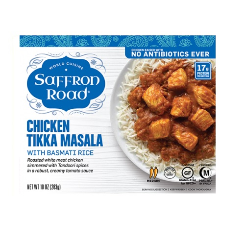 SAFFRON ROAD CHICKEN TIKKA MASAL 10oz