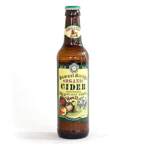 SAMUEL SMITH'S ORGANIC APPLE CIDER 18.7oz