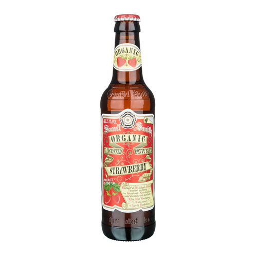 SAMUEL SMITH'S ORGANIC STRAWBERRY CIDER 18.7oz