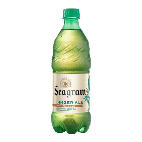 SEAGRAM'S GINGER ALE 20oz