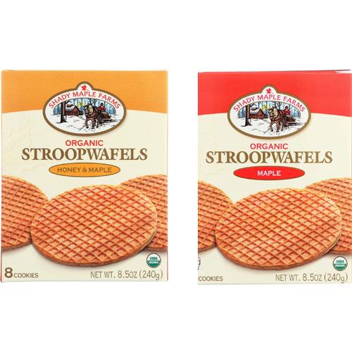 SHADY MAPLE FARMS ORGANIC STROOPWAFELS 8.5oz