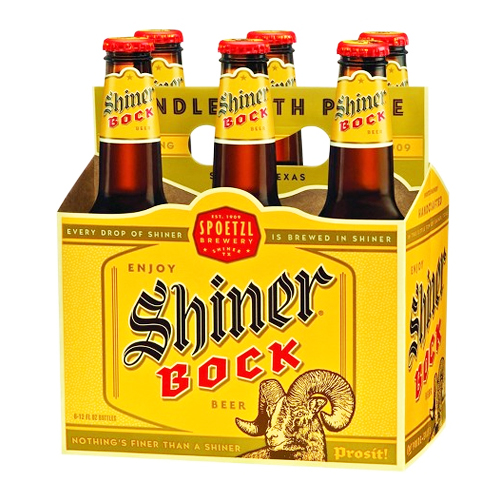 SHINER BROOK BEER 6pk 12oz.