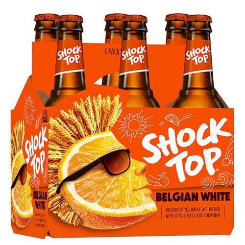 SHOCK TOP BELGIAN WHITE 6pk 12oz