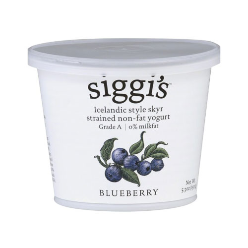 SIGGIS YOGURT 0% BLUEBERRY 5.3oz