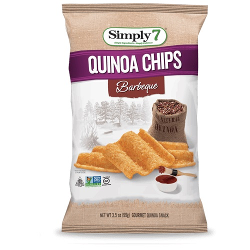 SIMPLY 7 QUINOA CHIPS BARBEQUE 3.5oz