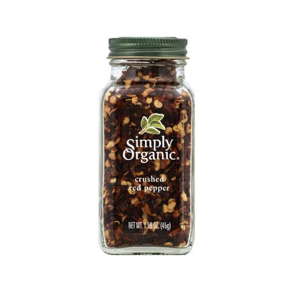SIMPLY ORGANIC CRUSHED RED PEPPER 1.59oz