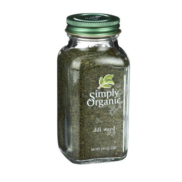 SIMPLY ORGANIC  DILL WEED 0.81oz