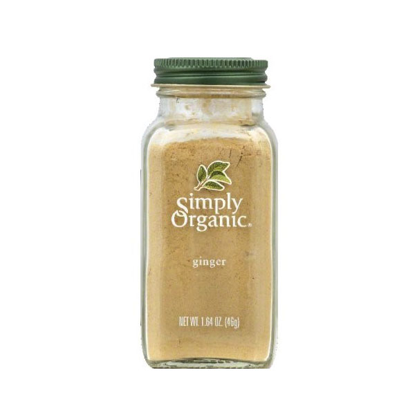 SIMPLY ORGANIC GINGER ROOT GROUND 1.64oz