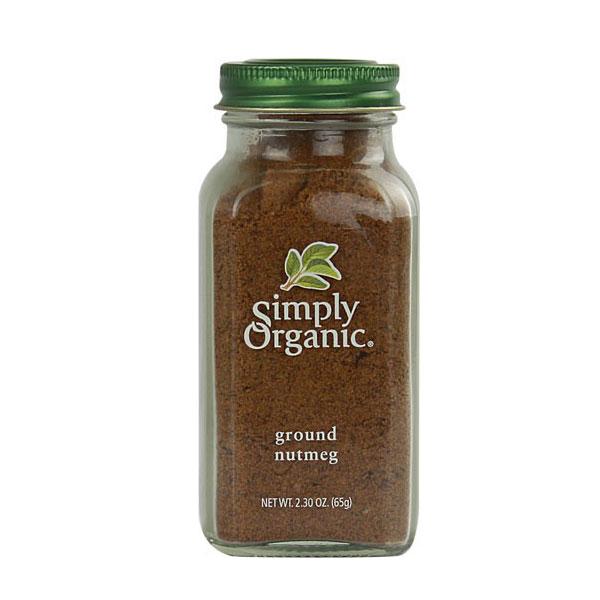 SIMPLY ORGANIC GROUND NUTMEG 2.3oz