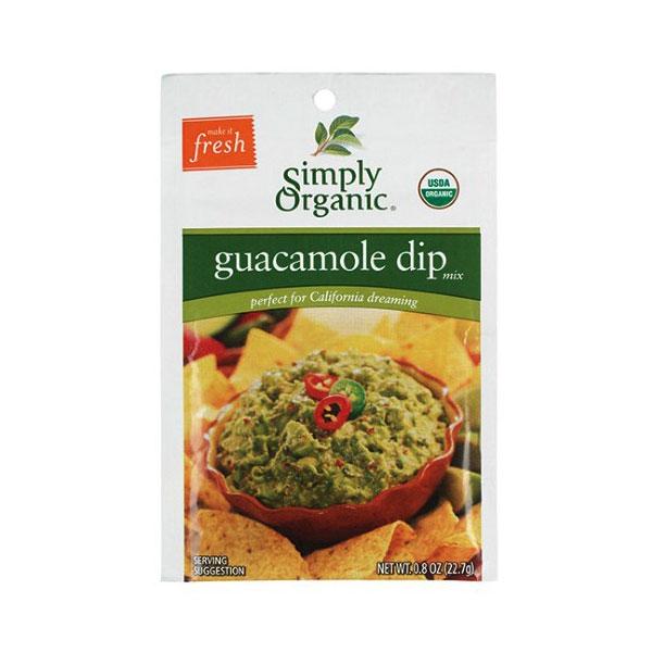 SIMPLY ORGANIC GUACAMOLE DIP MIX 0.8oz