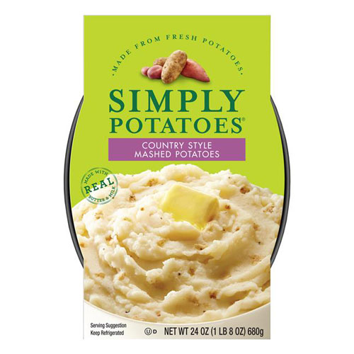 SIMPLY POTATOES MASHED POTATOES 24oz
