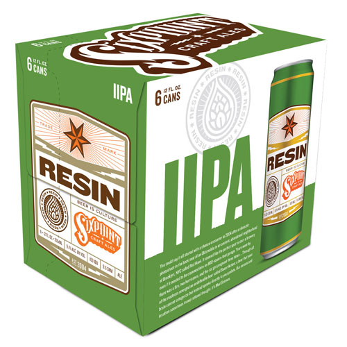 SIXPOINT IPA RESIN 6pk 12oz.