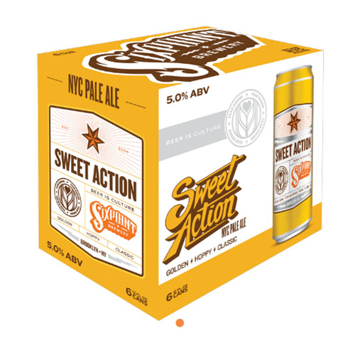SIXPOINT PALE ALE SWEET ACTION 6pk 12oz.