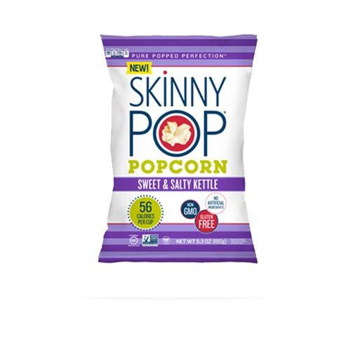 SKINNY POP POPCORN SWEET & SALTY KETTLE 5.3oz.