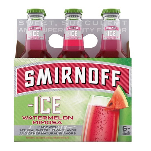 SMIRNOFF ICE WATERMELON MIMIOSA 6pk 11.2oz.