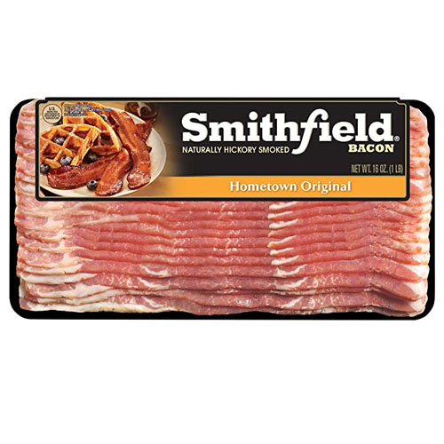 SMITHFIELD NATURALLY SMOKED BACON 16oz