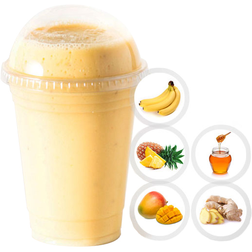 SMOOTH OPERATOR (BANANA, PINEAPPLE, MANGO, HONEY, GINSENG) SELECT 16oz OR 20oz