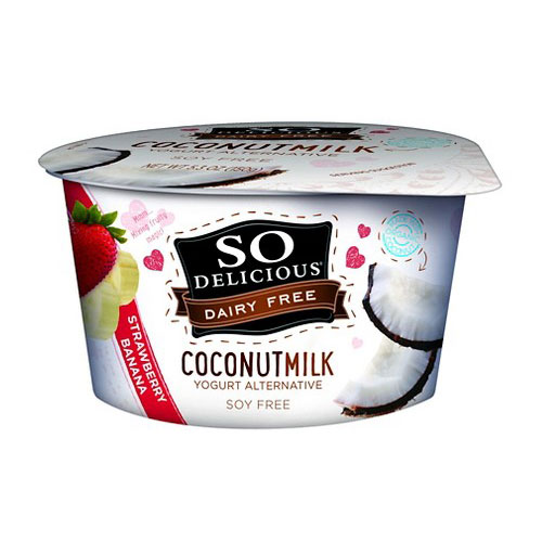 SO DELICIOUS DAIRY FREE YOGURT COCONUT MILK STRAWBERRY 5.3oz
