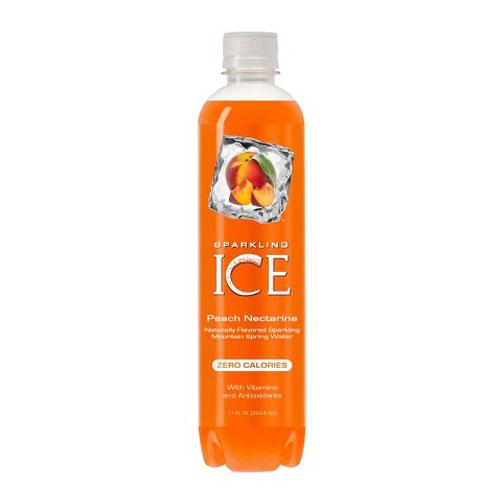 SPARKLING ICE PEACH NECTARINE 17oz