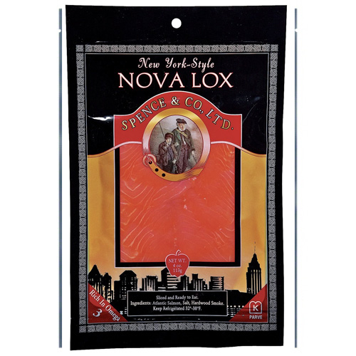 SPENCE & CO NEW YORK STYLE NOVA LOX 4oz