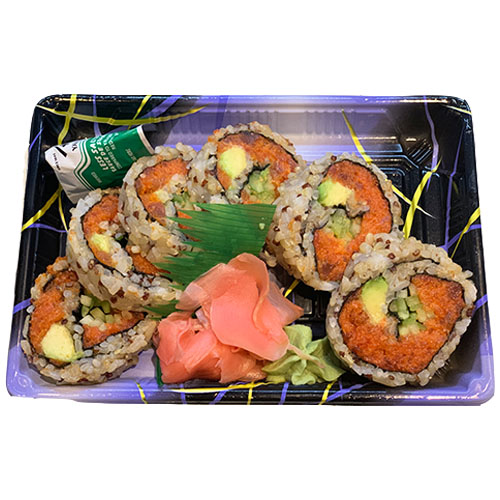 Spicy Tuna Roll Quinoa (Brown Rice, Avocado, Tuna, Seaweed, Vinegar, Sugar, Salt, Mayonnaise, Hot Sa