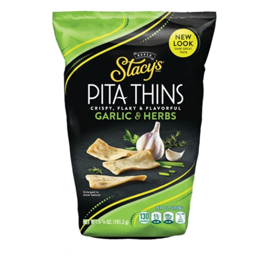 STACY'S PITA THINS GARLIC & HERBS 6.75oz.