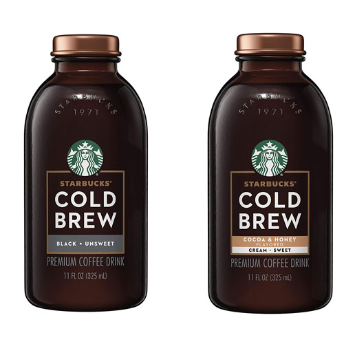STARBUCKS COLD BREW COFFEE 11oz