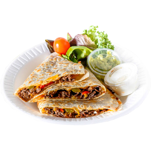 Steak Quesadilla - Jack Cheese, Mozzarella, Pico de Gallo, Caramelized Onion, Cilantro