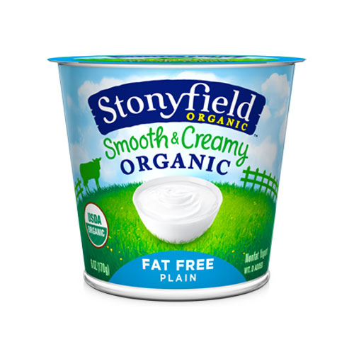 STONYFIELD YOGURT ORGANIC FAT FREE PLAIN 32oz