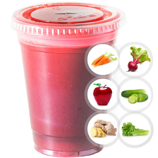 SUNAC HEALTHY (CARROT, APPLE, GINGER, BEET, CUCUMBER, CELERY) SELECT 16oz OR 20oz