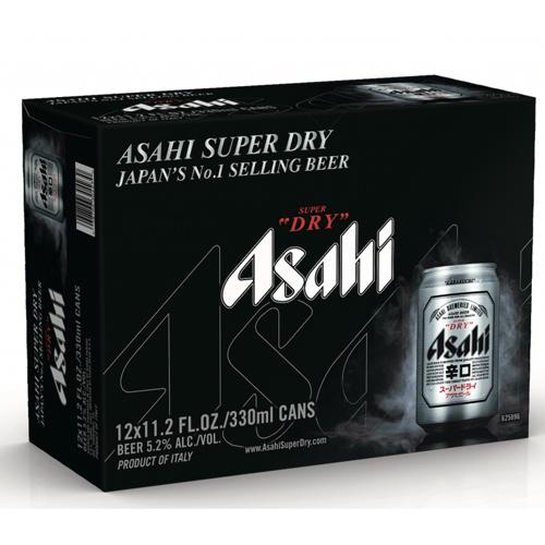 SUPER DRY ASAHI 11.2oz 12pk.