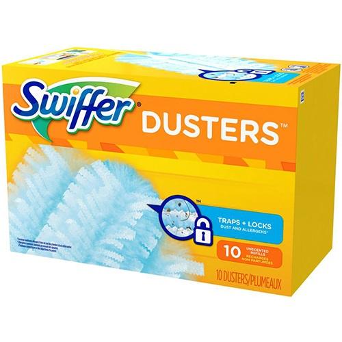 SWIFFER DUSTIRS TRAPS + LOCKS MULTI SURFACE 10DUSTERS