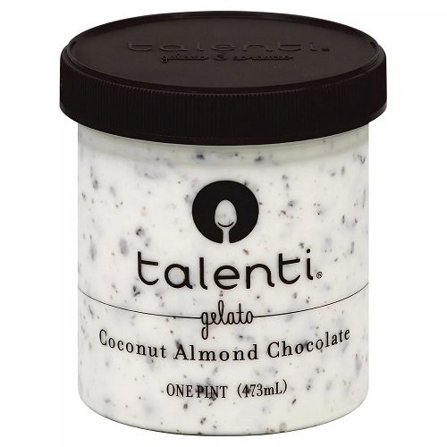TALENTI GELATO COCONUT ALMOND CHOCOLATE 16oz