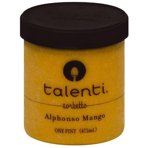TALENTI SORBETTO ALPHOSO MANGO 16oz