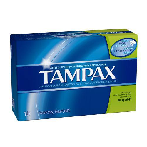 TAMPAX SUPER 10pk
