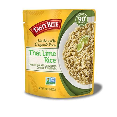 TASTY BITE ALL NATURAL THAI LIME RICE 8.8oz