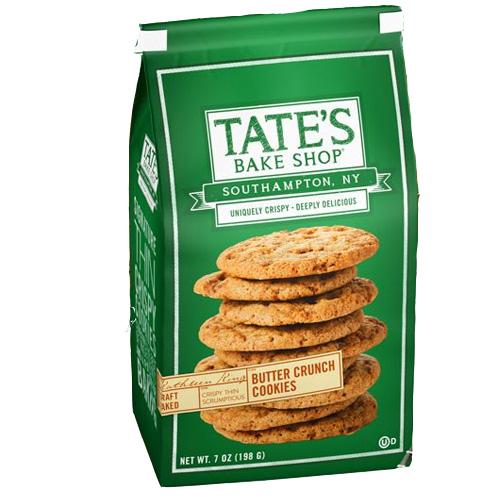 TATE'S BUTTER CRUNCH COOKIES 7oz