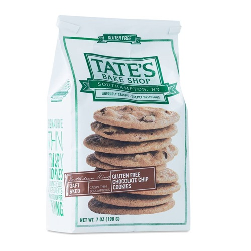 TATE'S GLUTEN FREE CHOCOLATE CHIP COOKIES 7oz