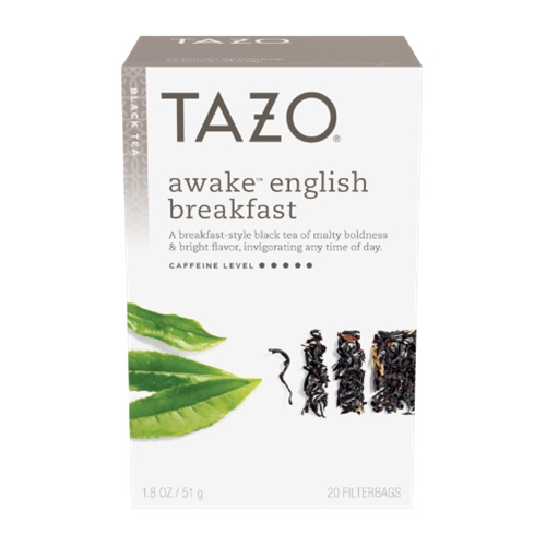 TAZO BLACK TEA AWAKE ENGLISH BREAKFAST 20pc