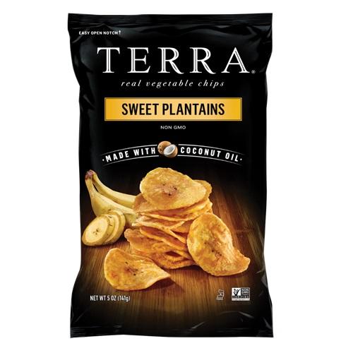 TERRA VEGETABLE CHIPS SWEET PLANTAINS 5oz.