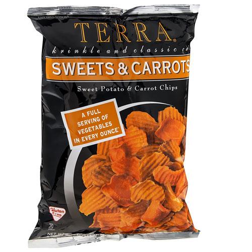 TERRA VEGETABLE CHIPS SWEETS & CARROT 6oz