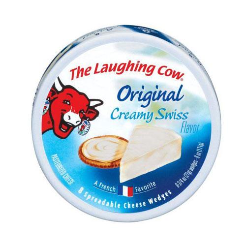 THE LAUGHING COW ORIGINAL CREAMY SWISS 6oz.