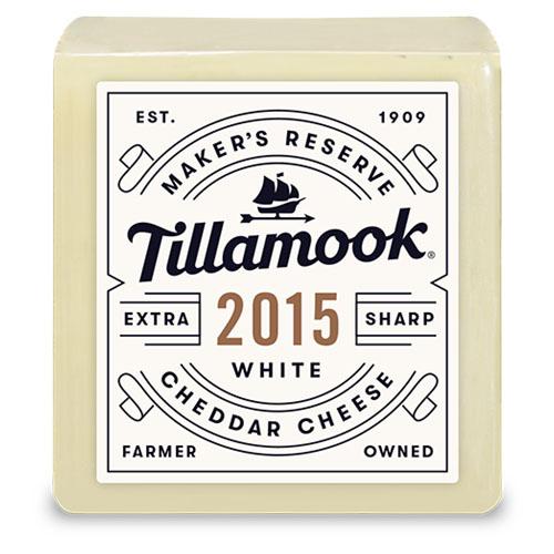 TILLAMOOK BLOCK 2015 WHITE CHEDDAR 7oz.
