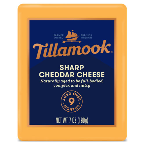 TILLAMOOK BLOCK SHARP CHEDDAR 7oz.