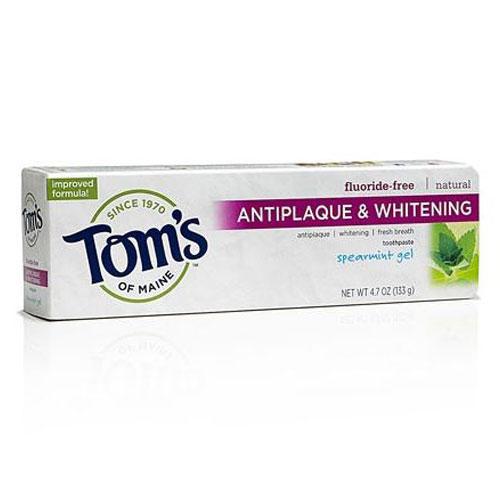 TOMS  TOOTHPASTE ANTIPLAQUE SPEARMINT GEL 4.7oz