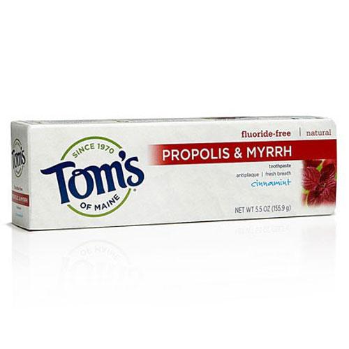 TOMS  TOOTHPASTE PROPOLIS CINNAMINT 5.5oz