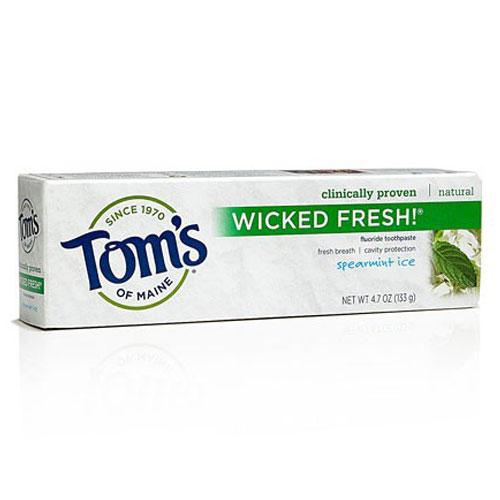TOMS TOOTHPASTE WICKED FRESH SPEARMINT 4.7oz.