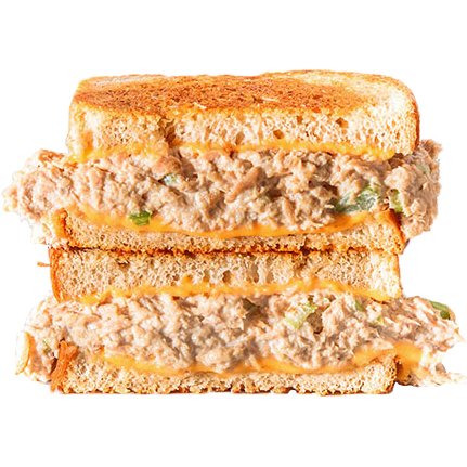 TUNA MELT ( Tuna, Melted American Cheese)